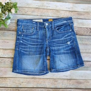 Anthro Pilcro And The Letterpress Jean Shorts